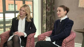 Cate Blanchett and Rooney Mara on sex scenes and equality   BBC Breakfast thumbnail