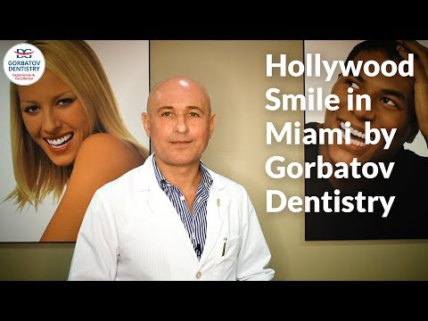 Hollywood Smile in Miami by Gorbatov Dentistry