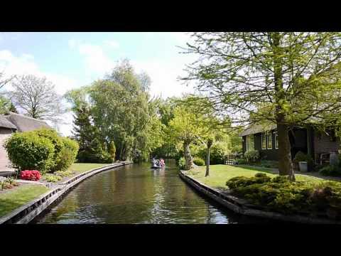 Giethoorn Netherlands 荷兰,羊角村