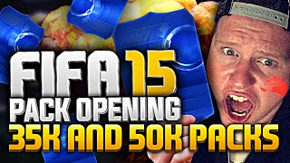 FIFA 15 | 35K AND 50K TEAM OF THE YEAR PACKS! Thumbnail