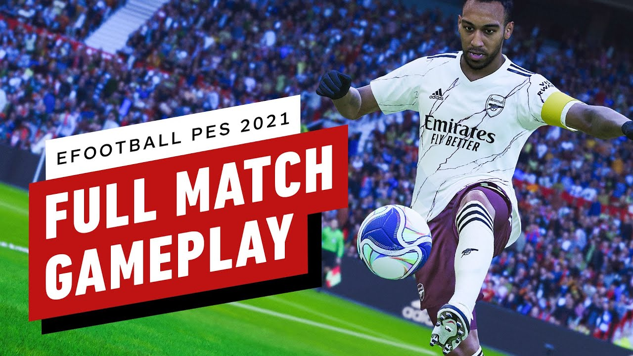 eFootball PES 2021 Season Update - Full Match Gameplay 4K