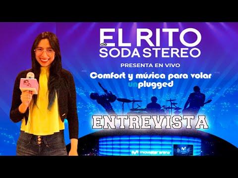 ????EL RITO DE SODA STEREO reactivará los conciertos con público presente MOVISTAR ARENA ????????