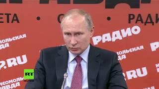 Wladimir Putin zu russischen Medien: Kim Jong-un hat dieses Spiel zweifellos gewonnen.