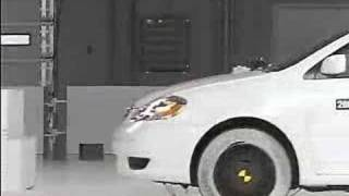 Crash Test 2003 - 2007 Toyota Corolla / Altis IIHS