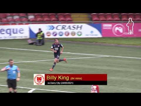 Goal: Billy King (vs Derry City 24/05/2021)
