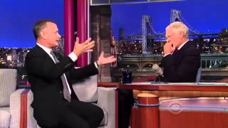 Tom Hanks on Late Show With David Letterman