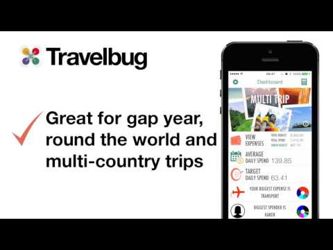 Travelbug: travel money manager app for iPad and iPhone