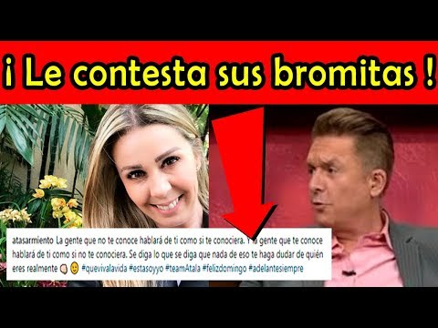 Atala Sarmiento LE CONTESTA SUS BROMITAS a Daniel Bisogno en Ventaneando
