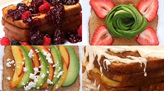 16 Ways To Up Your Breakfast Toast Game •Tasty