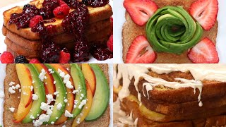 16 Ways To Up Your Breakfast Toast Game Tasty
