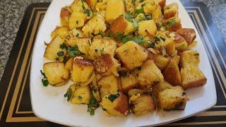 Spicy crumpets recipe  Spicy crumpets bhaji