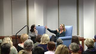 Author Lisa Jewell at Hudson Library 11.7.19