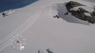 Skittentind rando 2017 (Downhill)