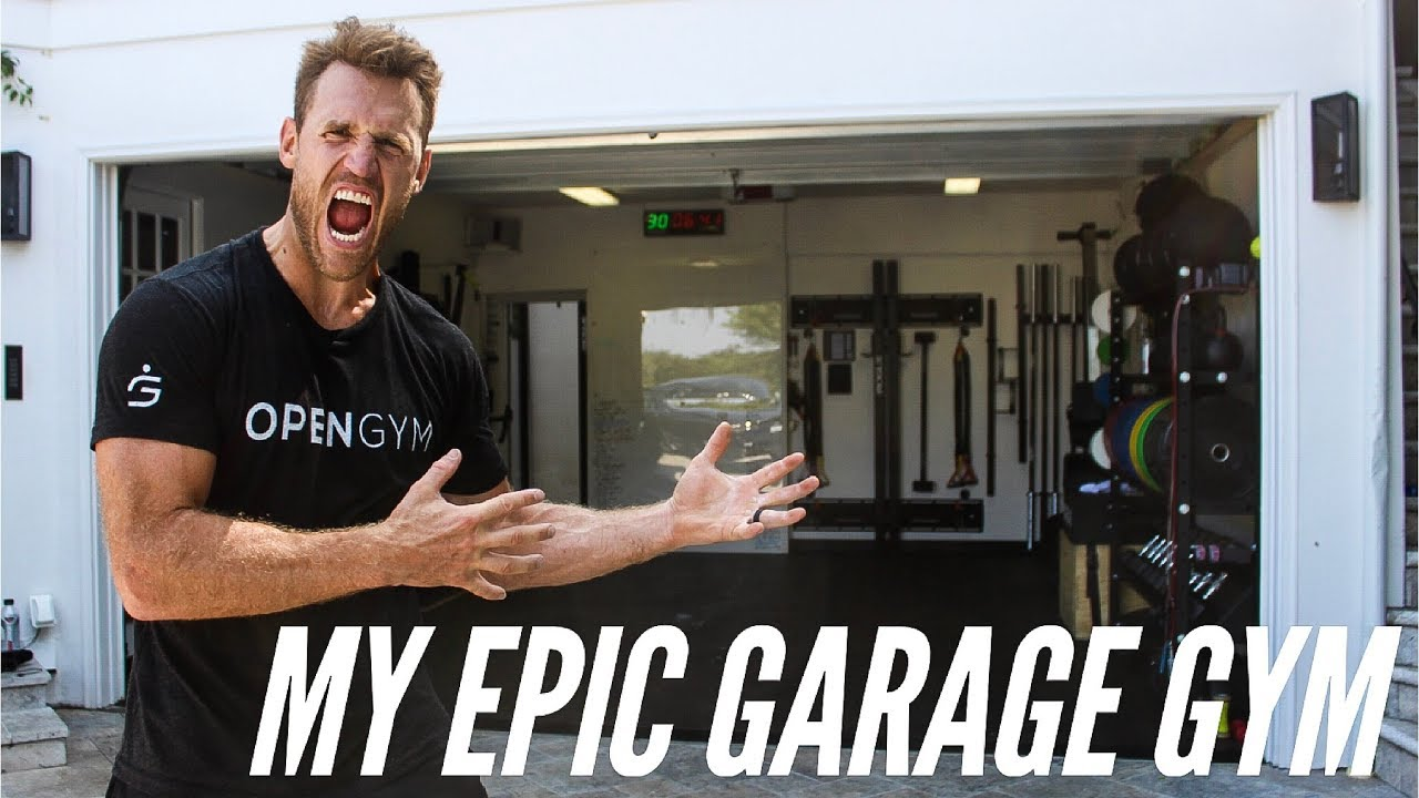 Nhl player brooks laich s epic garage gym youtube