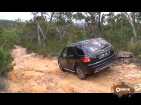 Ford territory off road test