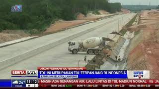 Presiden Jokowi Resmikan Tol Terpanjang Indonesia Bakauheni-Terbanggi Besar