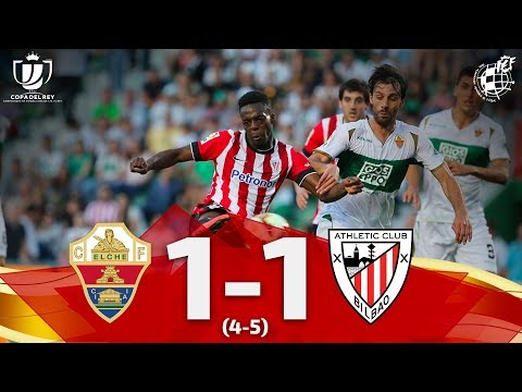 Elche Ath. Bilbao Goals And Highlights