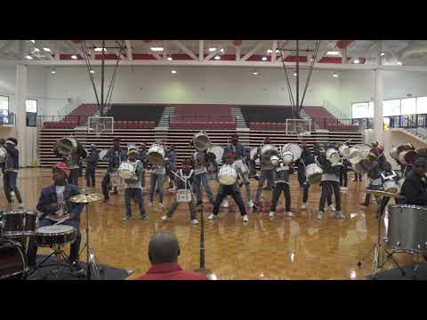 Amazing Drummers Perform On The Drum Line featuring Atlanta Drum Academy