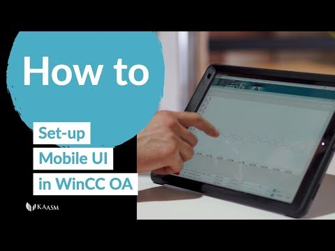 How To Setup The Mobile UI In WinCC OA