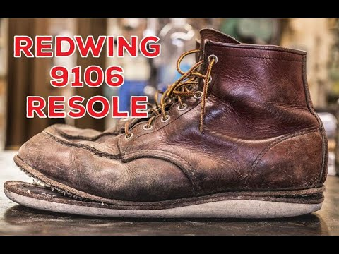 RED WING 9106 Resole #49
