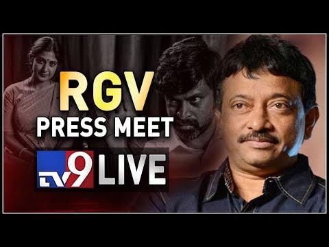 Ram Gopal Varma Press Meet LIVE || Lakshmi's NTR || Hyderabad - TV9