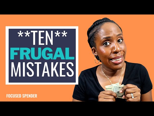 10 Ways Being Cheap Can Make You Broke