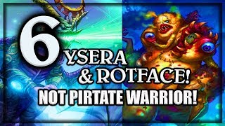 6 Yseras and Rotface ~ Knights of the Frozen Throne Expansion (Hearthstone)