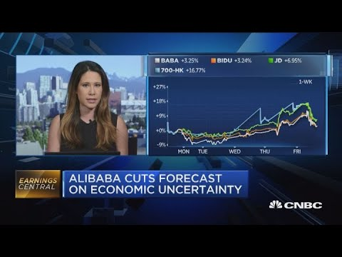 Alibaba Cuts Forecast On Economic Uncertainty