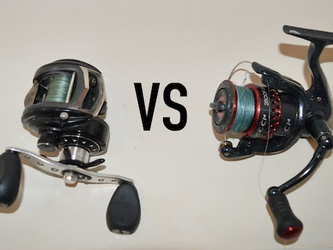 Fishing Reels: Spinning VS Baitcasting