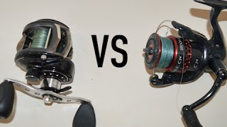 Fishing Reels: Spinning VS Baitcasting
