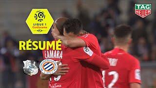Amiens SC - Montpellier Hérault SC ( 1-2 ) - Résumé - (ASC - MHSC) / 2019-20