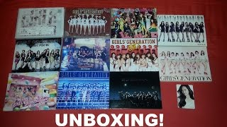 SNSD 소녀시대 少女時代 Unboxing Haul P2 -  Massive Girls