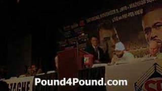 Joe Calzaghe vs Roy Jones Final Press Conference