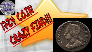 Metal Detecting - Metal Detecting Finds 2017. Colonial Copper Coin, and GOLD?