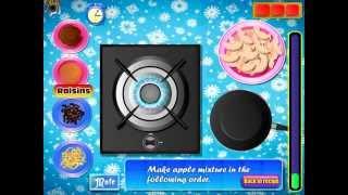 Frozen Elsa Apple Pie (Холодное сердце: Эльза готовит яблочный пирог) - прохождение игры