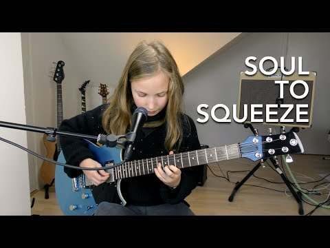 Soul To Squeeze - Red Hot Chili Peppers (Practicing cover)