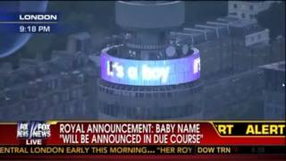 ITS A BOY! Royal Announcement In London after Kate Middleton gives Birth to Baby Boy