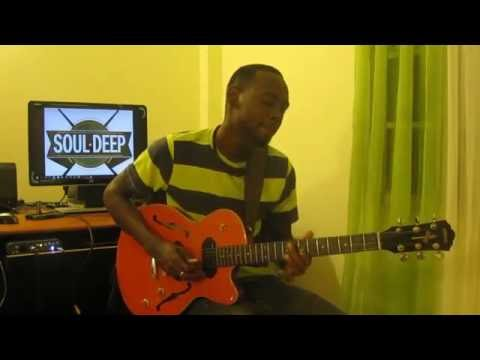Luther Vandross- Never Too Much (Guitar Cover)