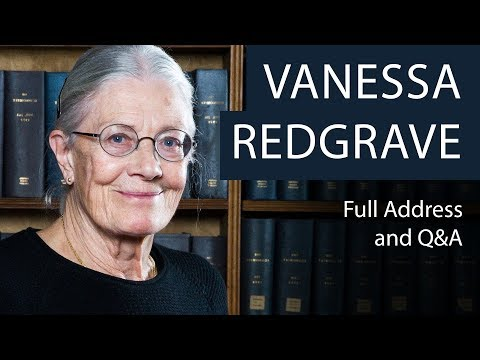 Vanessa Redgrave  Full Address and Q&A  Oxford Union