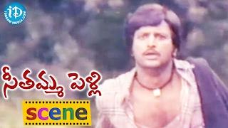 Seethamma Pelli Movie Scenes - Nutan Prasad Kidnaps Revathi || Mohan Babu || Aruna || Bapu
