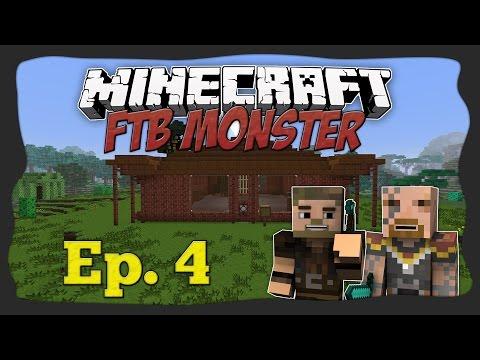 Let's Play FtB Monster - 4. osa - Tinker's Construct 3