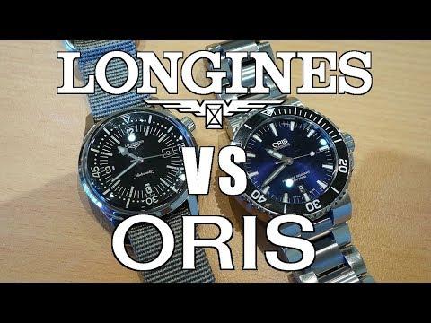 Automatic Dive Watch Duel: Longines Legend Diver vs Oris Aquis Date! - Perth WAtch #132