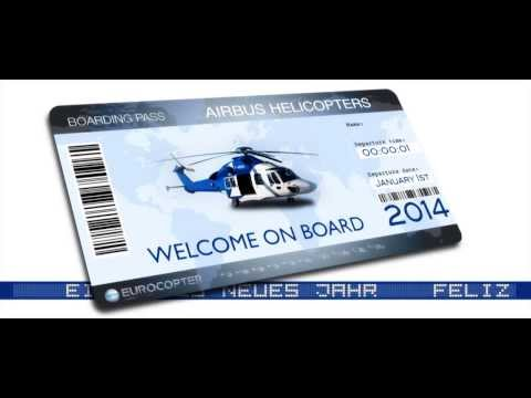 Airbus helicopters - Greetings 2014