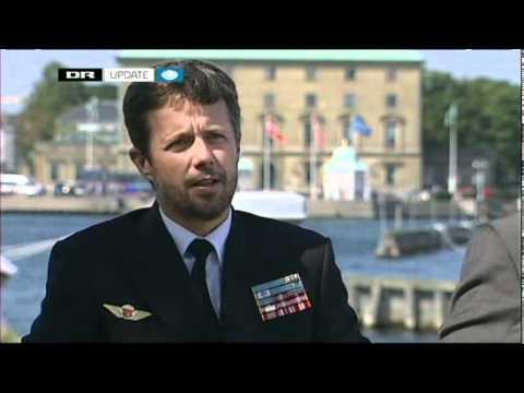 Kronprinsen om flåden