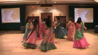 Garba Dance with sticks from Gujarat in India
