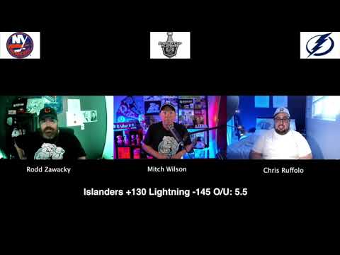 Tampa Bay Lightning vs New York Islanders 9/13/20 NHL Pick and Prediction Stanley Cup Playoffs
