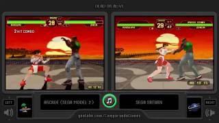 Dual Longplay [22] Dead or Alive (Arcade vs Sega Saturn) Kasumi Playthrough