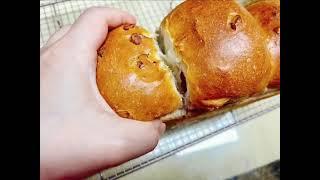 호두크랜베리식빵 뜯어먹기