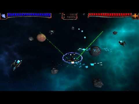AstroMenace (fast look at gameplay)