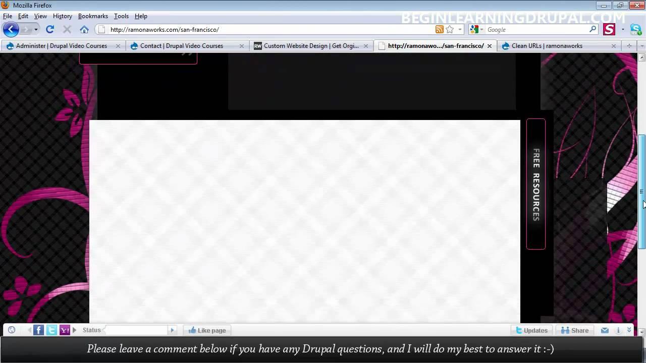 Build your first drupal 7 web site a drupal video tutorial.